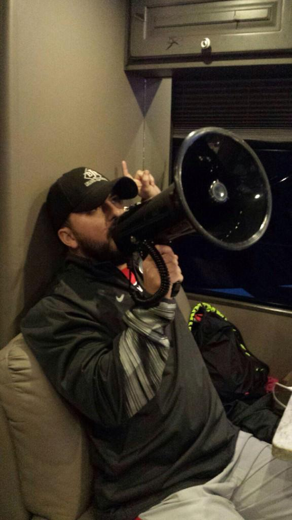 ATTENTION all twitter followers. RT if you want my megaphone! @tylerfarr #BreakthroughArtist #ACCAwards http://t.co/kt4k8n2b2I