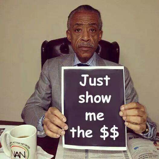 Pitiful - Meet the Press gives Al Sharpton air time