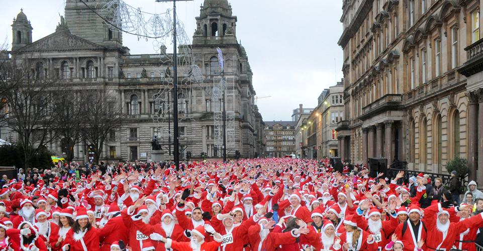 GOOD LUCK to everyone taking part in today's Santa Dash – HO HO HO, have lots of festive fun! http://t.co/V3fBXKqXlI