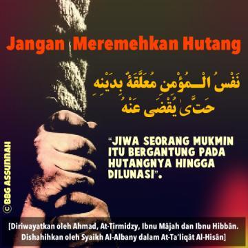 Nasehat Islami Tentang Hutang Celoteh Bijak