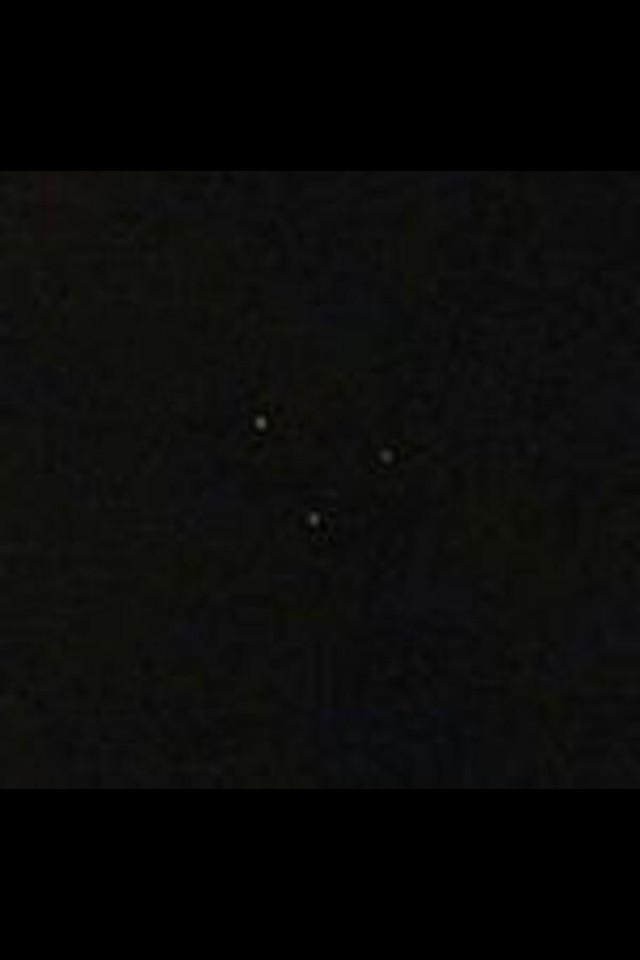 Triangle UFO Sighting Over Texas 2013