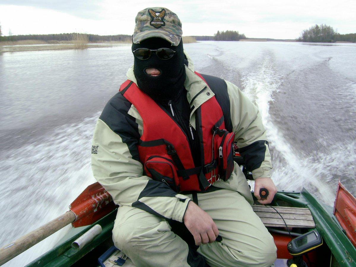 маска рыбака