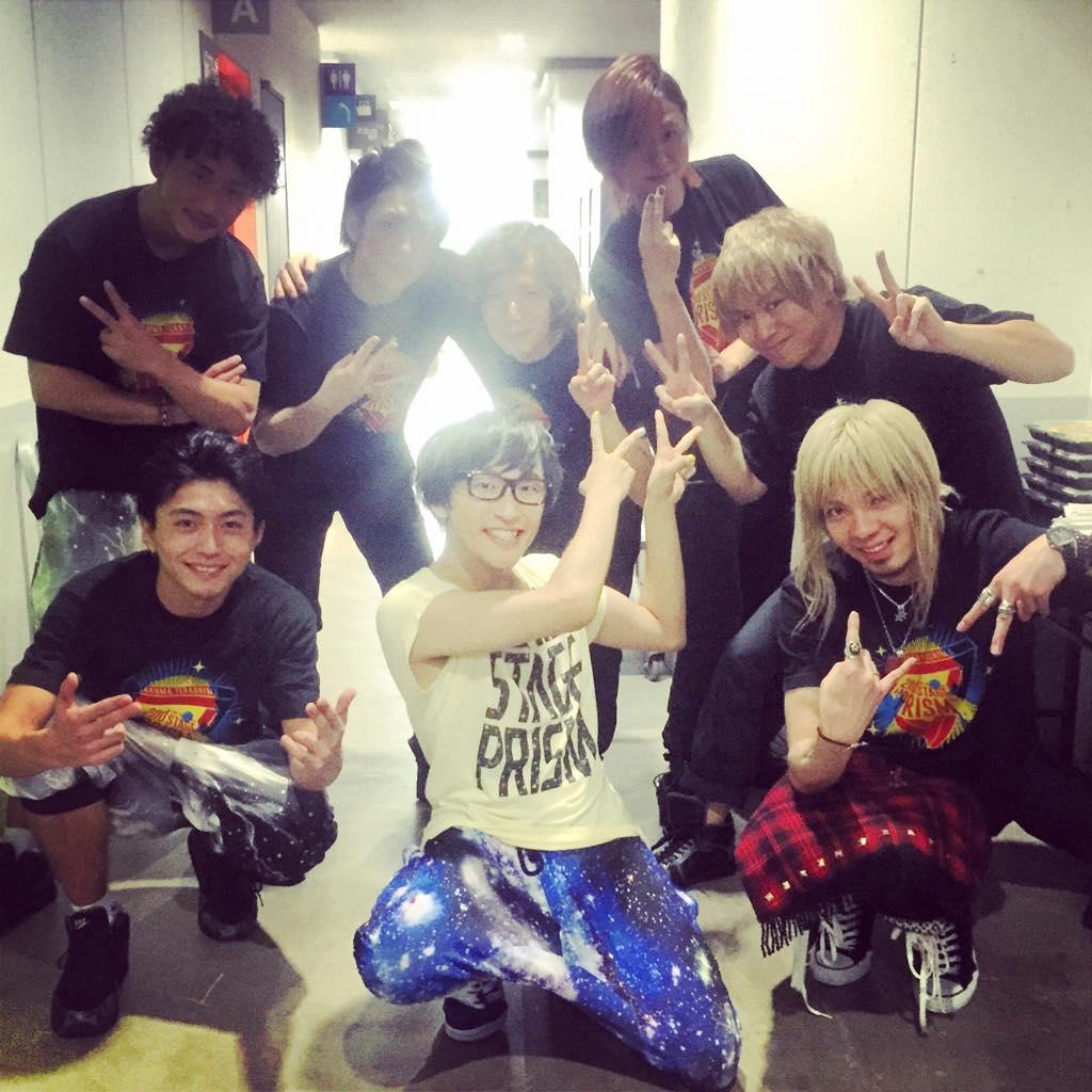 PRISM TOURファイナル終了!!今日はリハから寺島くんの気合いが凄かった☆そしてバンドもダンサーさんも素晴らしいメンバーでした。またみんなでライブやりたい!! http://t.co/YMpo2B3DRA