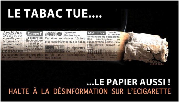Le tabac tue le papier aussi