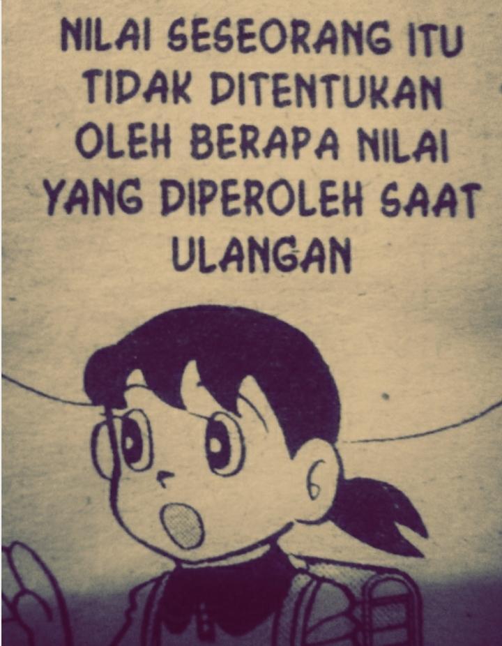 Doraemon Hari Ini A Twitter Shizu Betul Nilai Seorang