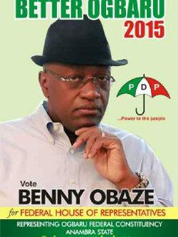 Image result for BENNY OBAZE