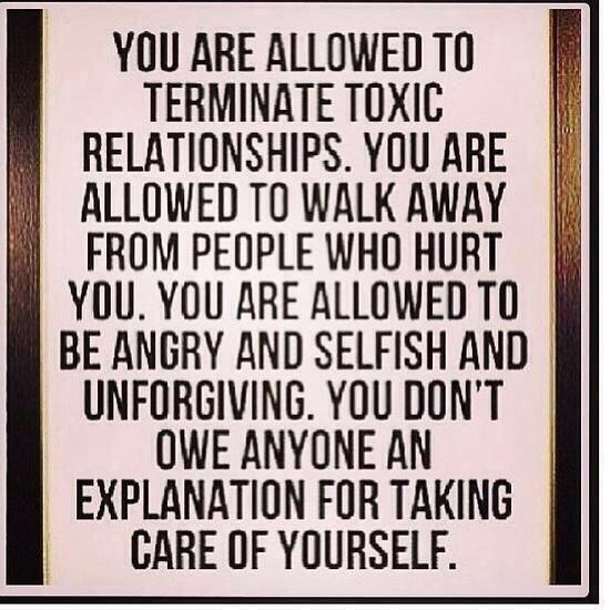 Definition of a Toxic Person