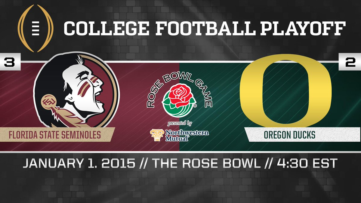 The decision for @FSU_Football has been made! #CFBPlayoff http://t.co/8ZWIMzIRpL
