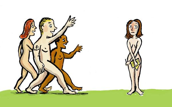 Opinion, the nudist resort images pity