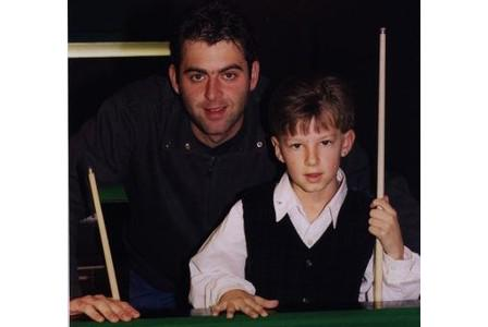 King in the making @judd147t @ronnieo147 http://t.co/TjuLHeLWzo via @LiveSnooker147 #lovethebaize