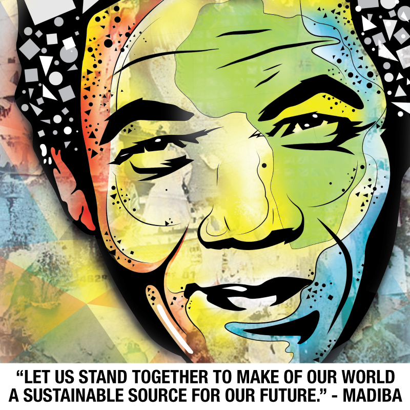 ".@NelsonMandela Inspiring #COP20 Leadership ""Make Our World a Sustainable Source"" - #Madiba http://t.co/7lW3QBMQb7 http://t.co/dFqZhp4n9m"
