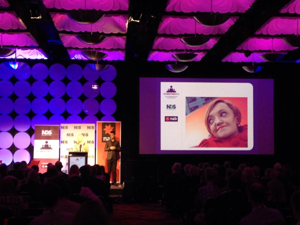 Vale Stella Young. Your passion takes us forward. #ceo2014 http://t.co/v4ayn9Y5Fm
