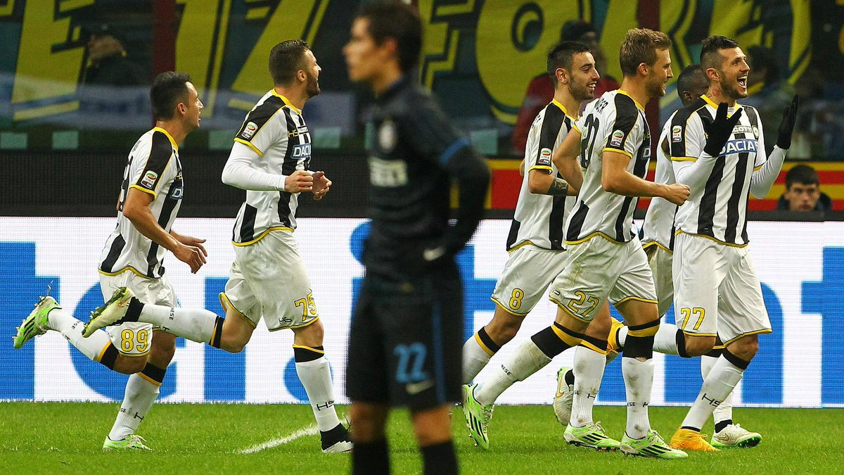 Video Inter Udinese 1-2.