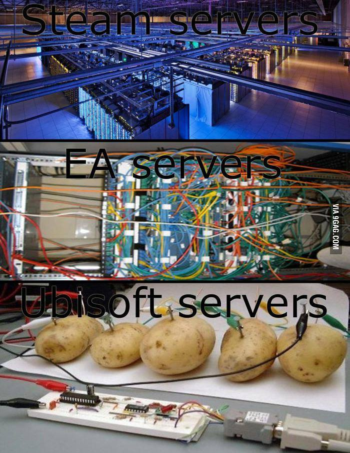 「ubi server vs ea server」的圖片搜尋結果