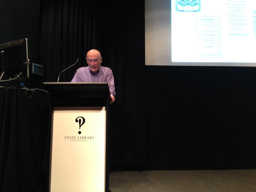 "Christian Vandendorpe's excellent keynote at #INKESydney14: ""Wikipedia and the Ecosystem of Knowledge"" http://t.co/eZdjcf79vs"