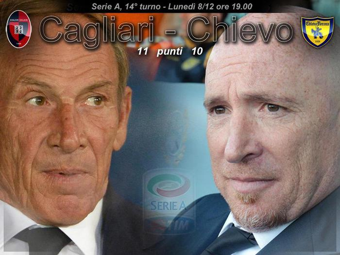 Cagliari Chievo Verona, come vedere streaming gratis diretta tv live