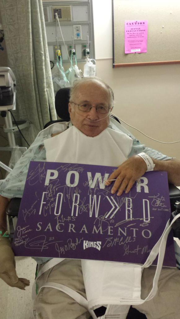 Thank you @SacramentoKings this made my Dad's day. http://t.co/7ynSLrRtOj