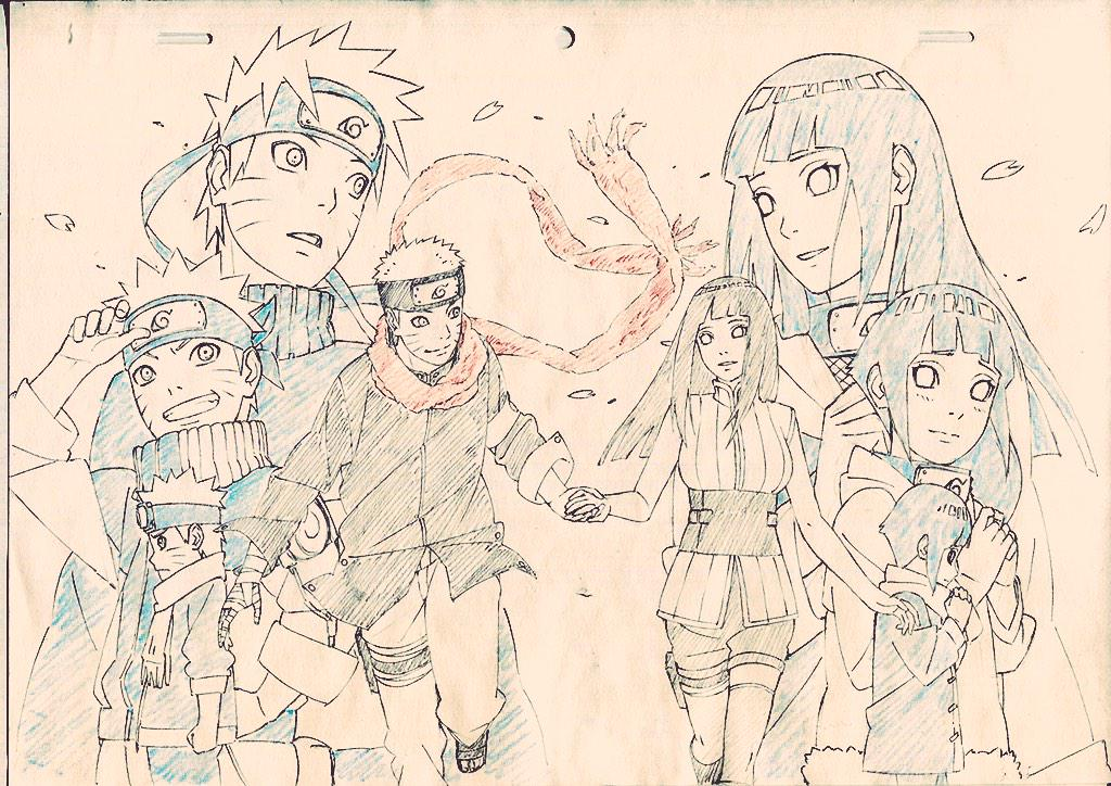 Sekibeing on twitter the last - Croquis naruto ...