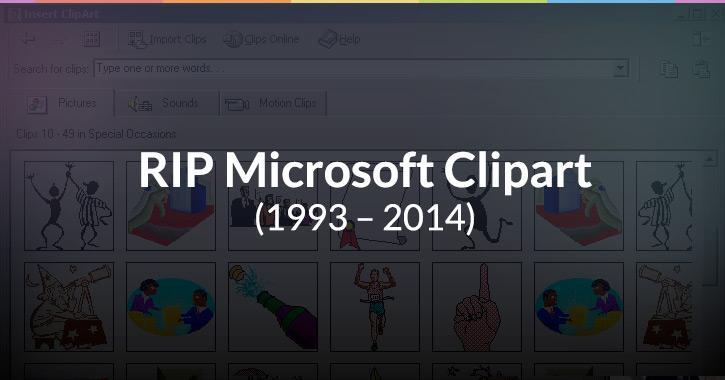 Designers Rejoice! Microsoft Kills Off Clipart – 15 Free Microsoft Clipart Alternatives http://t.co/dFYGDPhLah http://t.co/xBWnvXRIKL