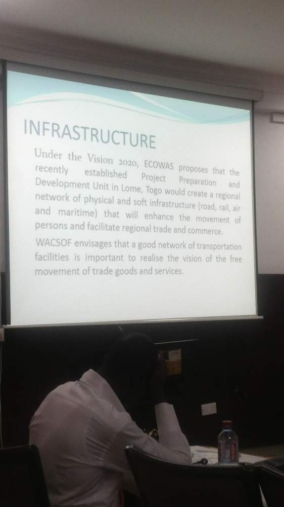 Ecowas finds #infrastructure thx to #vision2020 of ecowas critical. -- #WACSCON14 http://t.co/6OesJqK1Zr
