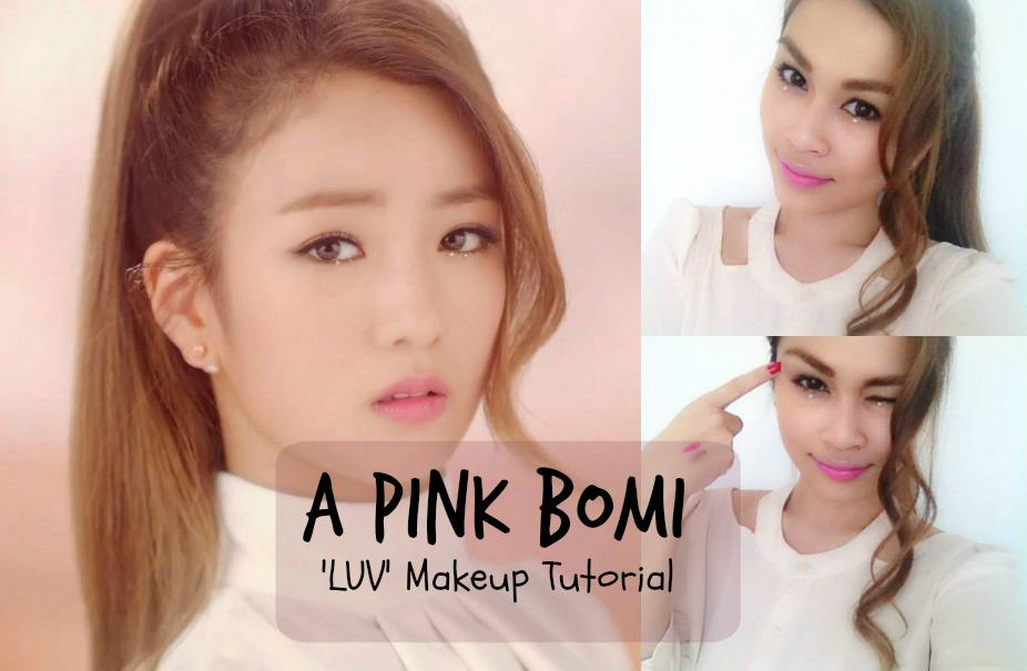 Taya Sunaz On Twitter Apink Bomi Inspired Makeup Tutorial Is Now