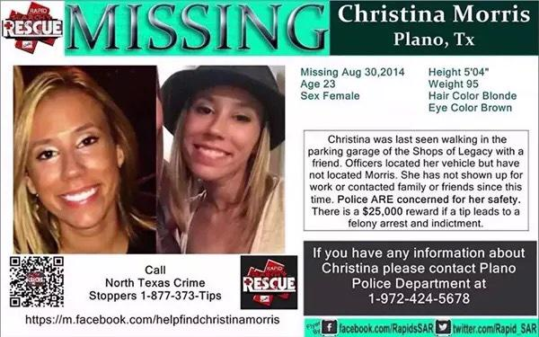 #RT Help her mom @jonnimcElroy #FindChristina FB page Help Find Christina Morris http://t.co/zYdcuYAi86 @apparelzoolive @WhoIsNickG @kat1sss