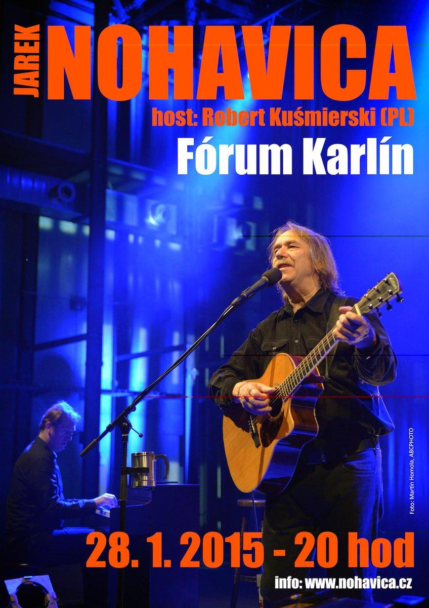 Jarek Nohavica, 28. ledna 2015 ve Forum Karlín. http://t.co/eEbaSbPzOk