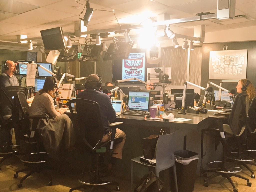 Camp Out For Hunger 2014 results from @PrestonSteve933 - 840,457 lbs of food collected, up from 772,461 lbs in 2013! http://t.co/V4SgnIqzKS