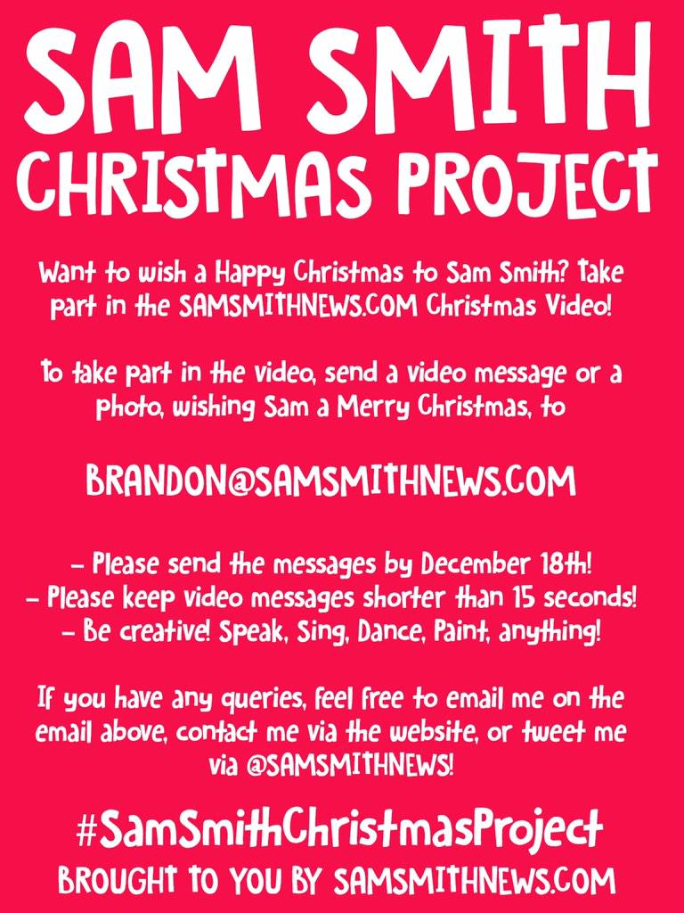 Sam Smith Have Yourself A Merry Little Christmas.Sam Smith On Twitter My Christmas Song Have Yourself A
