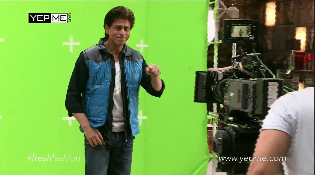 iamsrk for  Yepme Ad Behind the Scenes  Yepmedotcom  SRK  ShahRukhKhan ALL  HQ CAPS   Pics http   on.fb.me 12ptNaa pic.twitter.com Qh8SmDPPS2