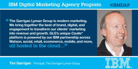 IBM partners w/agencies to transform marketing into growth #IBMDAP @TimGarrigar @IBMExpOne http://t.co/qdJ0AvKqm6 http://t.co/dZID8PlXzK