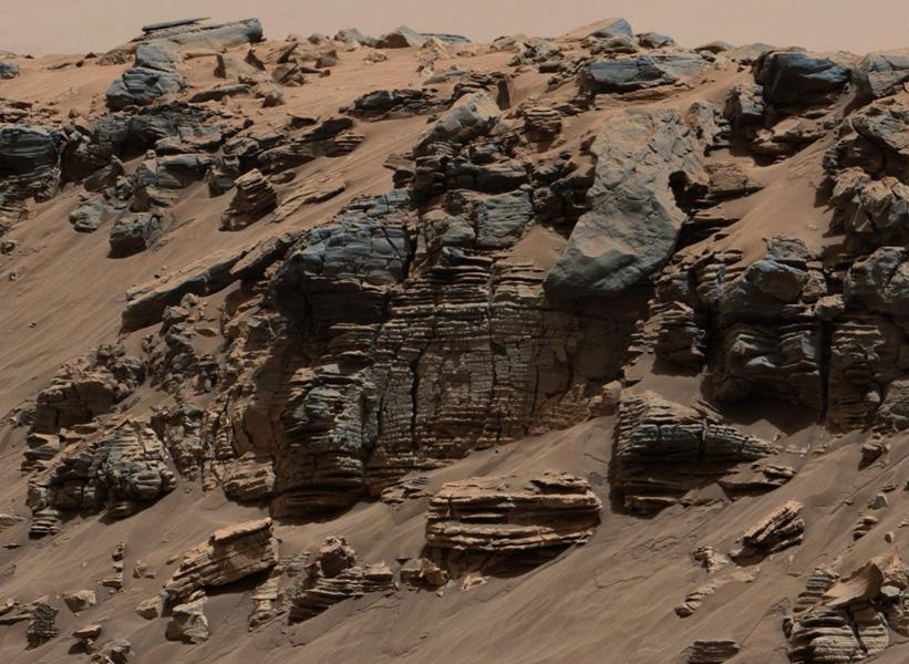 Signs of an ancient lakebed on Mars from @MarsCuriosity. Amazing pics & results. http://t.co/4wzAprFTlA http://t.co/CDp0Qtww6x