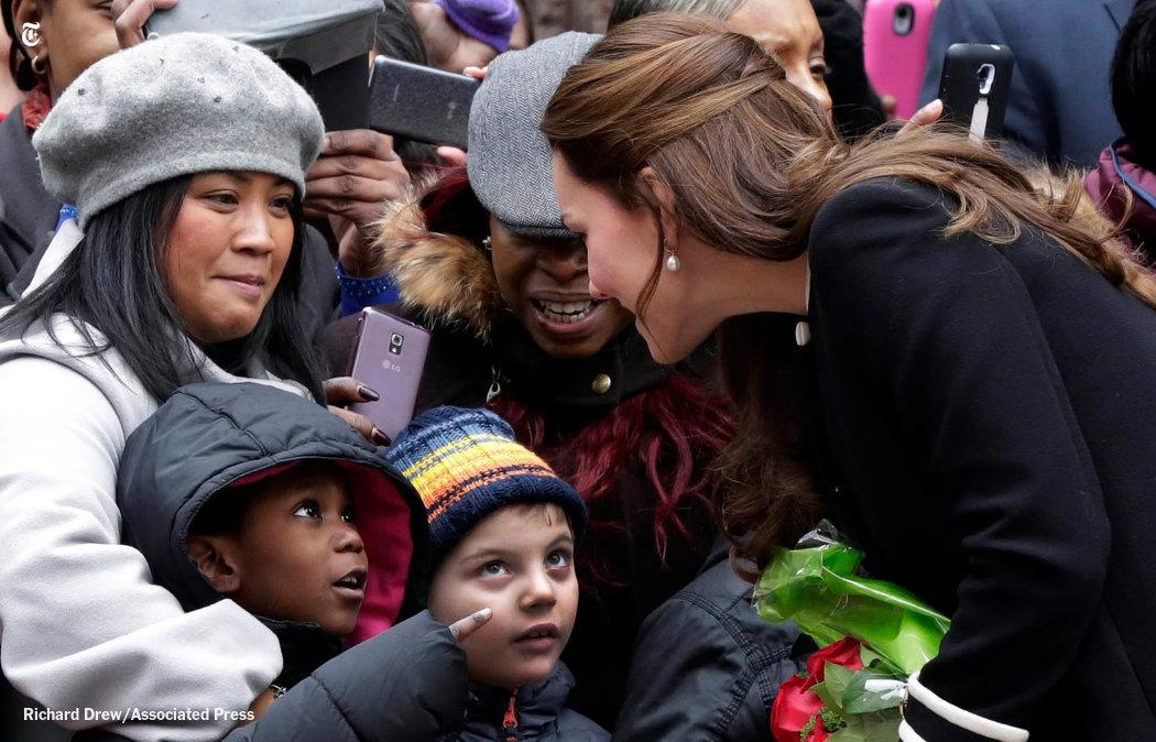 Catherine, Duchess of Cambridge, greeted children and parents in Harlem. Where she goes next: http://t.co/jlpZjUczik http://t.co/JcZ8jeJnZe