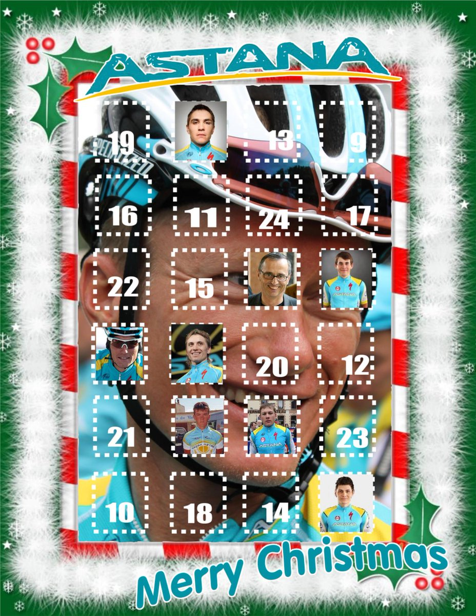 Just opened door 8 on the Astana Advent Calendar, that was a shocker :o :D http://t.co/loZUiexNvj