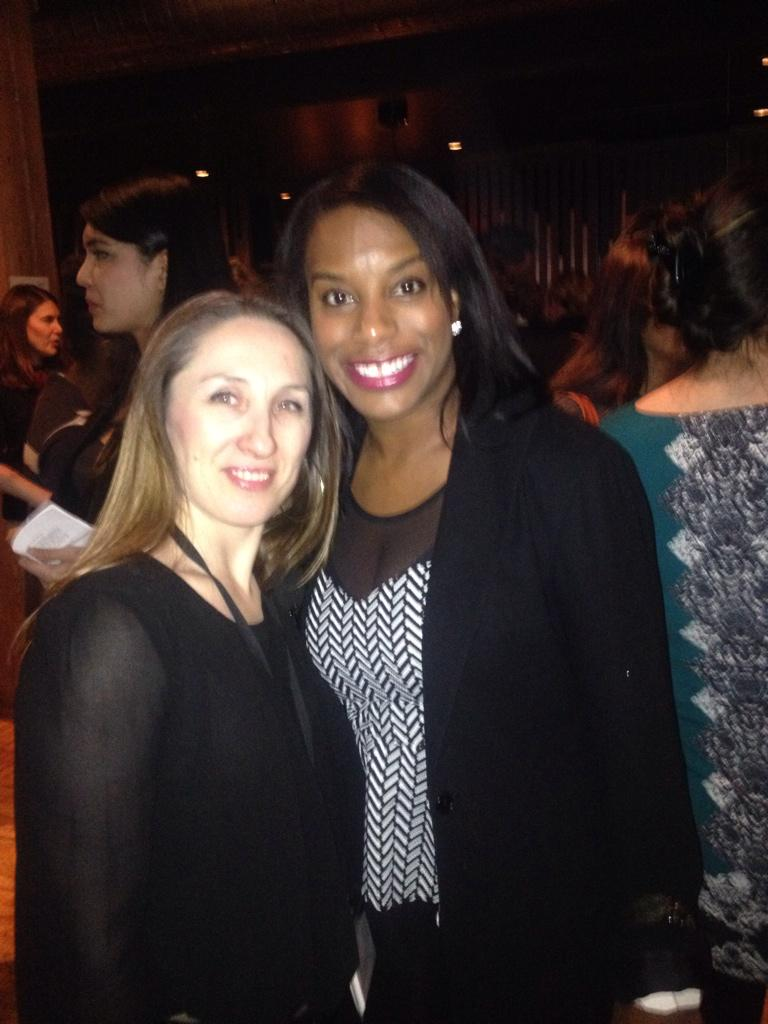 With the talented @DIS4Business @LeanInCanada #MenLeanIn event. #genderequality http://t.co/DJWxssCyl8