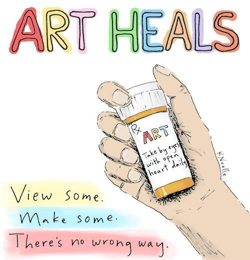 Is it time to refill your art prescription? #arttherapy #inspiration http://t.co/R6dUJwVp2A