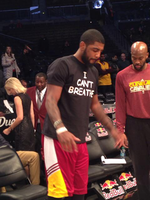 LeBron James wears 'I can't breathe' shirt before game - CNN.com