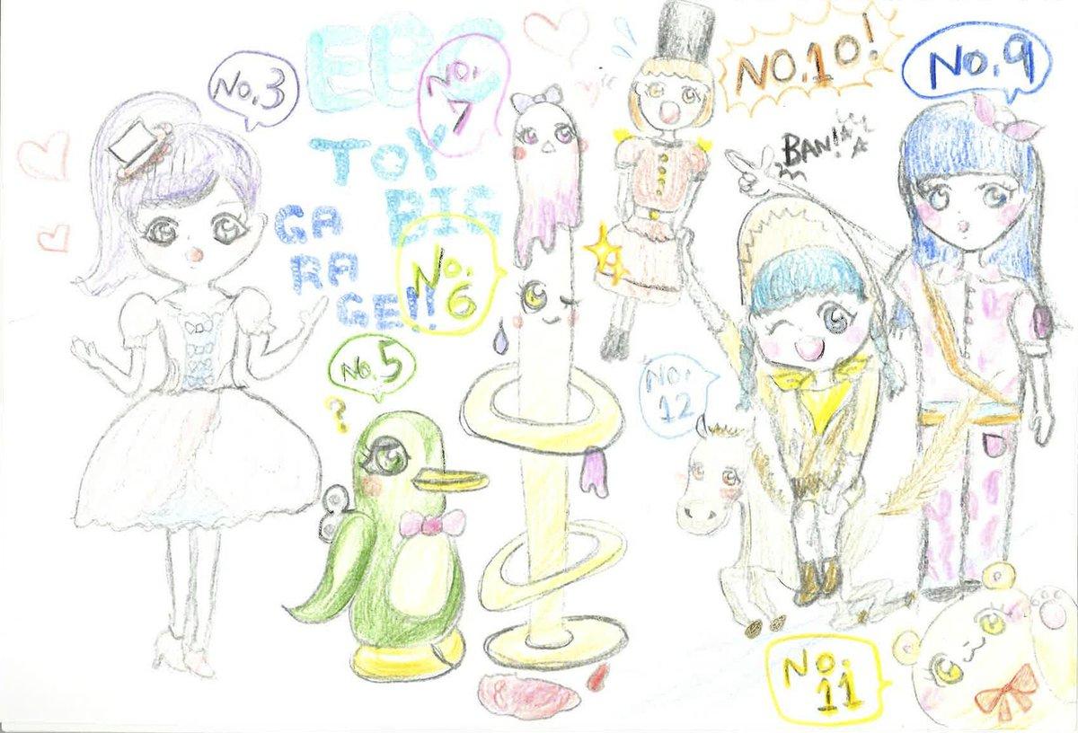 エビ中ぁぃぁぃの好評連載「アイドルさんのブログに夢中」で今回描いてもらったイラストをご紹介します。今回も力作を描いてくれましたが、いつもスペースの都合上