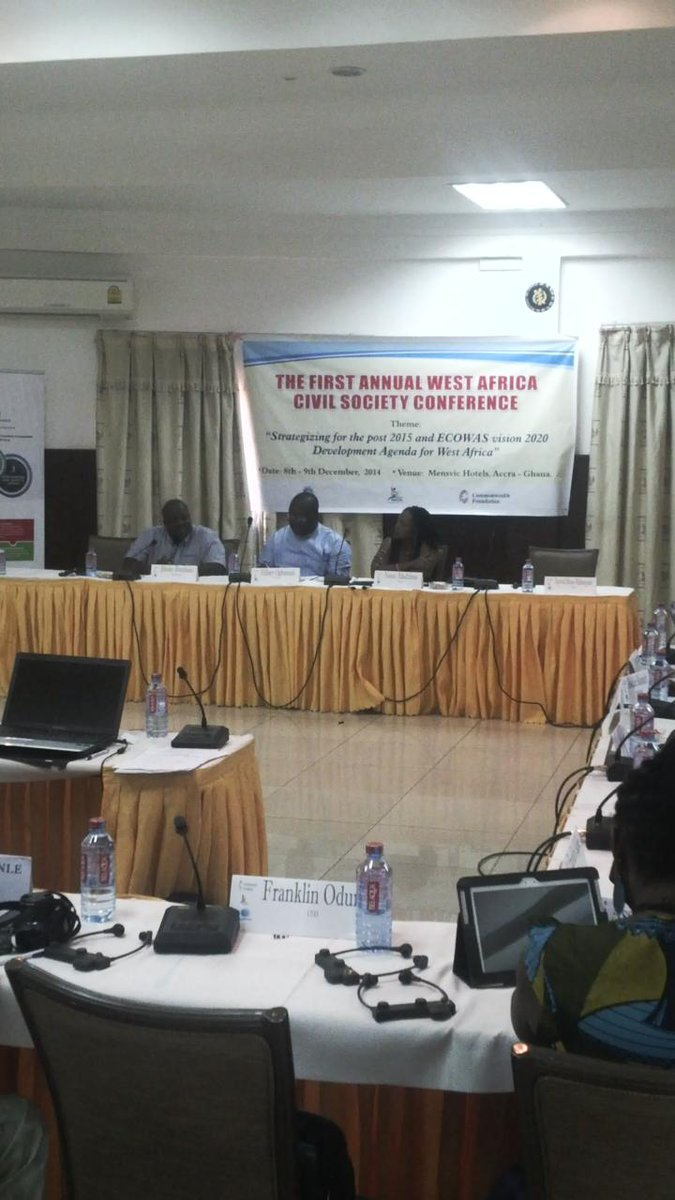 Day 2 of @WACSI #wacscon14 has commenced w/ discussion of history of #ecowas http://t.co/fCVaN8o2hs http://t.co/ePHaUd8zHr