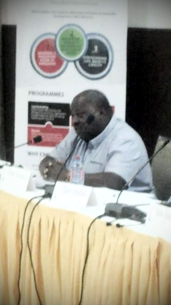 Dr.Jibril Ibrahim of @CDDWestAfrica -- #csos benefitted from #chambas of @UN_UNOWA tenure. #WACSCON14 @wacsi http://t.co/zfGpLVeddP