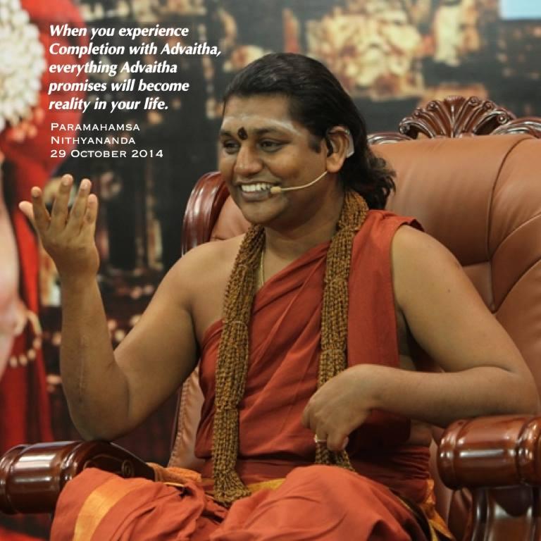 Advaita - Magazine cover