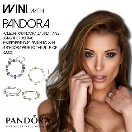Follow @Pandora_ZA and tweet using #HAPPYBIRTHDAYLEEANN to stand a chance of winning! @LeeAnn_L http://t.co/ezfEVQMeGn