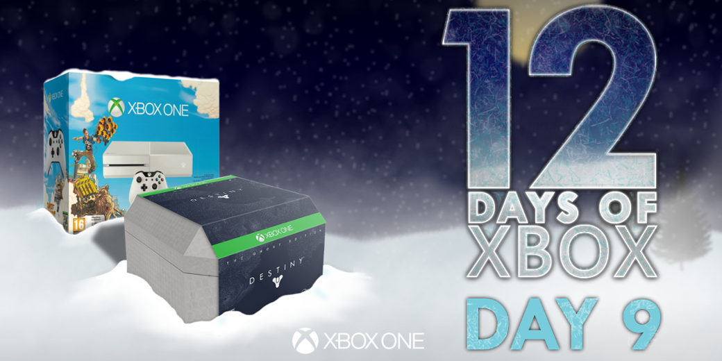 Legendary loot time!  Retweet for your chance to win #Destiny: The Ghost Edition, an #XboxOne and Sunset Overdrive! http://t.co/Mpqe23CxmL