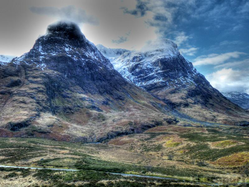 Glencoe, Scotland in winter. http://t.co/GEJZbltDNY