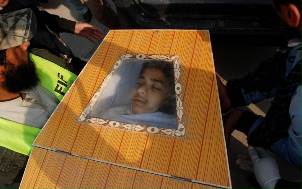 He must be a son, a brother and a dream for his parents. Future of humanity wrapped in blood. #PeshawarAttack http://t.co/G7a4jpO7ei