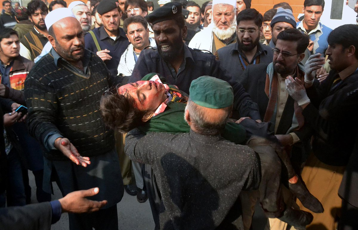 Thumbnail for Peshawar Slaughter: Over 140 Savagely Murdered–Most Of Them Schoolchildren