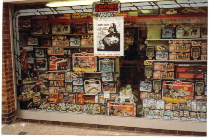 Killer Toys On Twitter StarWars UK Toy Store Window Display