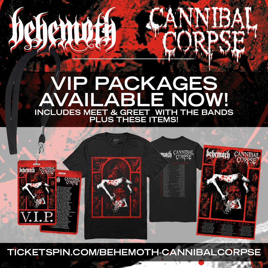 Retweet for a chance to win FREE TIX, MEET+GREET & VIP PACKAGE to see us and @corpseofficial http://t.co/t6fF8dKCNz http://t.co/gBx4xW5jA6