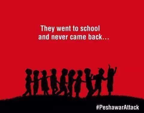 Mereka ke sekolah dan tak pernah kembali. They went to school and never came back #PeshawarAttack #DamnedThaliban http://t.co/8WtY3UWMje