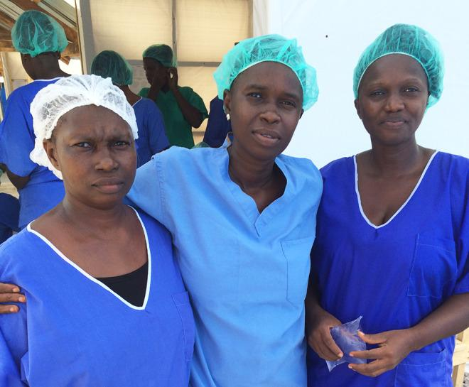In Sierra Leone, nurses who survive Ebola return to help others http://t.co/lbNL33NoeX http://t.co/o0JvC7Emve